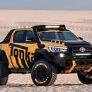 La Toyota Hilux más aventurera que conocerás - Publimetro Chile  Publimetro Chile La Toyota Hilux más aventurera que conocerás Publimetro Chile Toyota ha querido hacer un juguete para adultos gracias al trabajo en conjunto con el fabricante de juguetes Tonka. Esta Hilux Tonka Concept como ha sido bautizada esta pick up, llama la atención por la gran cantidad de…