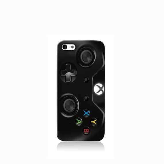 Xbox One Black Controller is available for iPhone 4/4S, iPhone 5/5s, iPhone 5c and new iPhone 6. The picture shows the design on an iPhone 5/5s case