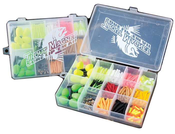 Soft Plastics 31691: New Trout Magnet -372 Pc Boat Box -> BUY IT NOW ONLY: $37.5 on eBay!