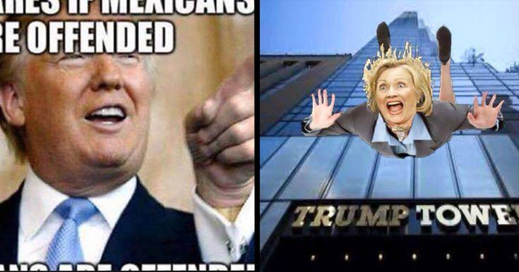 Trump Wall Meme | Donald Trump Has a Facebook Page Dedicated to Him: Trump Wall
