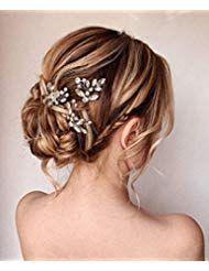 Unicra Braut Hochzeit Kristall Haarnadeln Blume Braut Haarteile Hochzeit Haarsch…