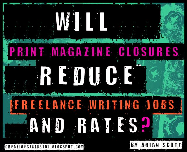 magazine article writing jobs Freelance writing jobs is a leading network and community for freelance writers.