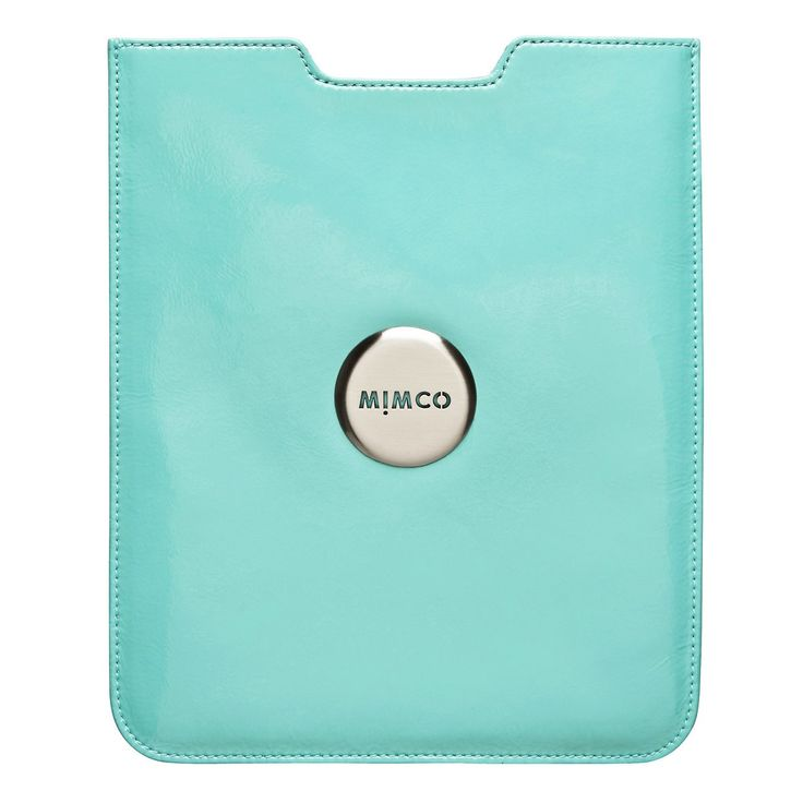 #mimco One word: Gorgeous. I can't think of any other way to describe that faded turquoise finish. I love how pretty my iPad is, and now I have the perfect cover to compliment it.     — Bec, Online Store Manager