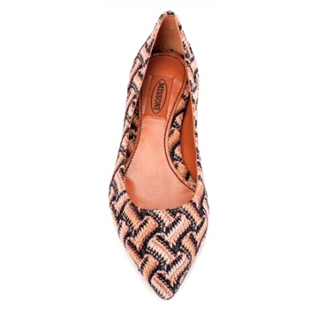 Missoni Pointy Ballet Flats in Neutral Basketweave For more info/to purchase click here: https://us.venteprivee.com/main/#/product/10629/1041223