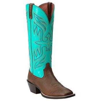 Ariat Women's Round Up Buckaroo Square Toe Boots