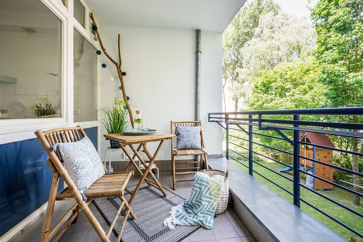 Fast jede Wohnung mit Balkon, Dachterrasse oder privatem Garten.