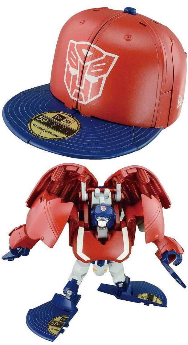 Takara x New Era Transformers Cap Bots – Des casquettes New Era qui se transforment en robots !
