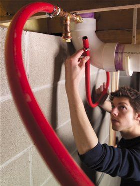 Plumb Your Shop with Air: Flexible hose saves time and money
