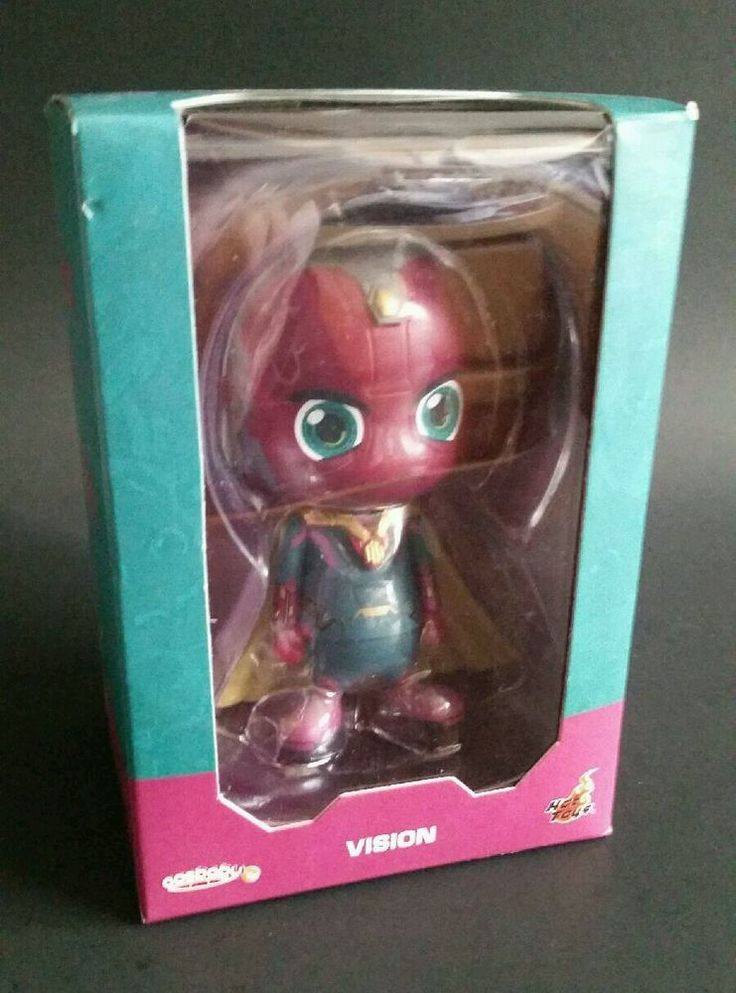 Marvel Avengers Cosbaby - Vision - Figure Hot Toys New In Box Stocking Stuffer