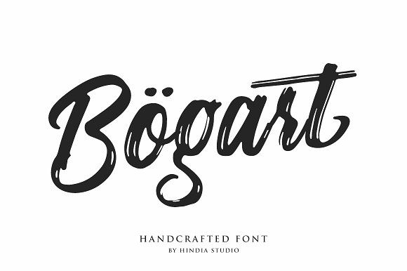 Bogart Script by Hindia Studio on @creativemarket