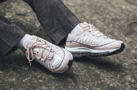 45c5c6b88ca The Nike WMNS Air Max 98 Barely Rose Blooms Tomorrow The Nike WMNS Air Max  98