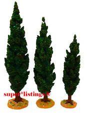 Dept. 56 Tierra Santa Chipre árboles Conjunto de 3 retirado 2005 Belén 59907 Nuevo