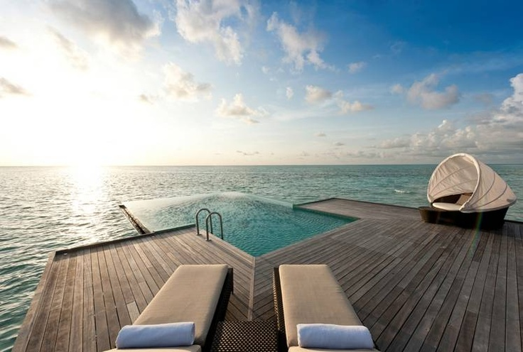 Conrad maldives rangali island design hotels plunge for Plunge pool design uk
