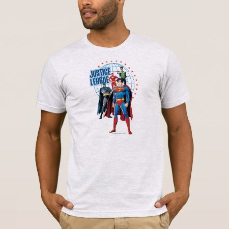 Justice League Global Heroes T-Shirt - tap to personalize and get yours