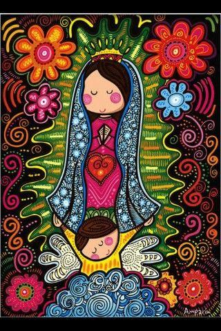 Virgencita de Guadalupe,  ruega por nosotros :)