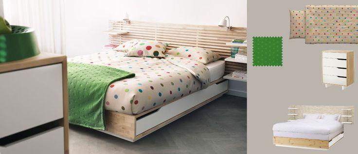 Les 25 meilleures id es concernant kits de couette sur for Housse tete de lit ikea