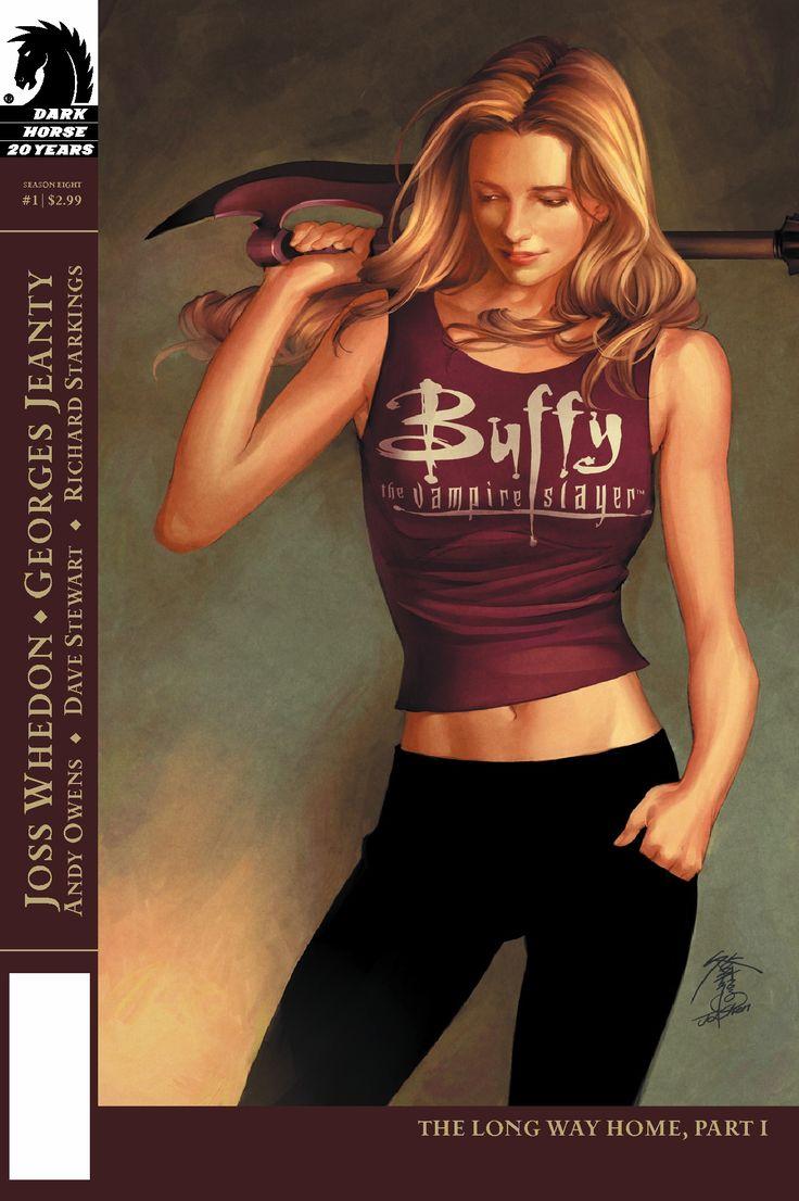 Buffy the Vampire Slayer Season 8 Comic Cover