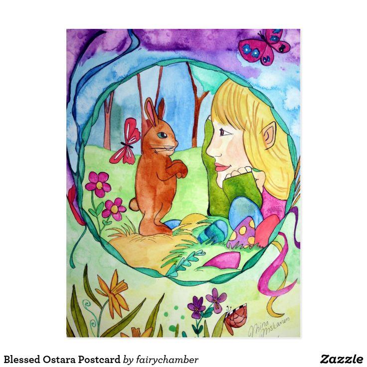 Blessed Ostara Postcard