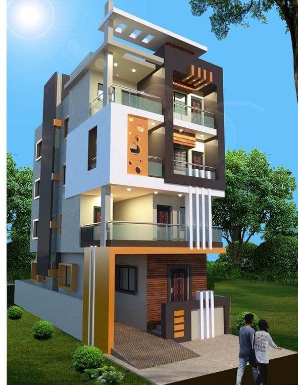 Home Design Ideas Elevation: Decorative 4 Bedroom House Architecture 2019