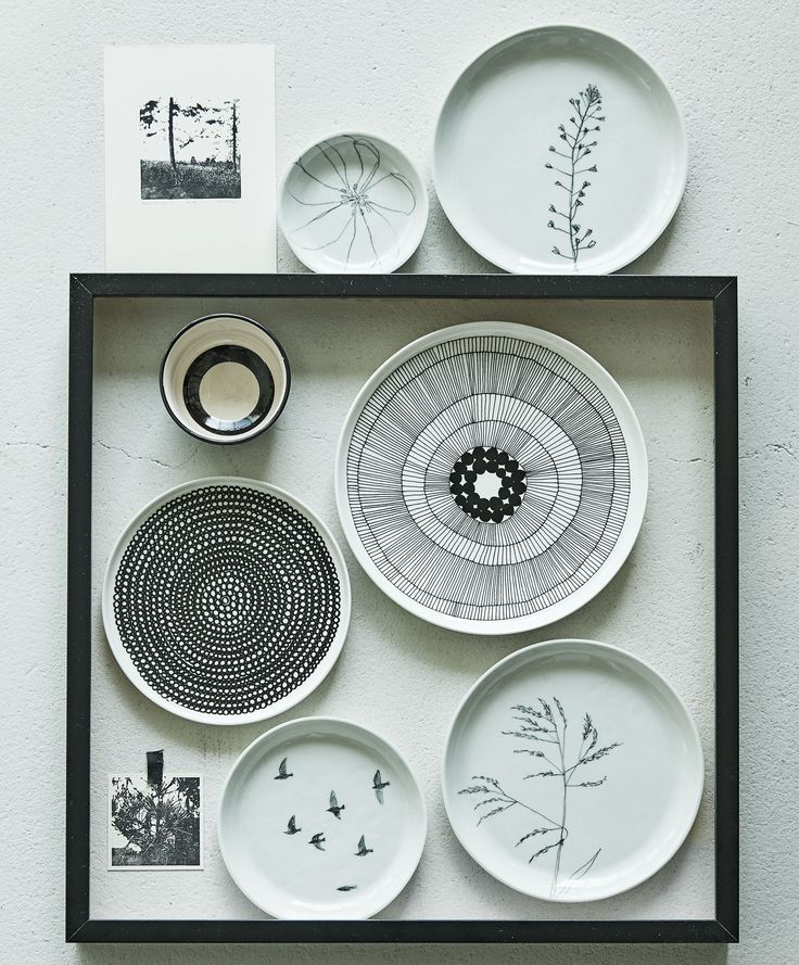 Borden als wanddecoratie | Plates as wall decoration | Photographer James Stokes | Styling Marianne Luning | vtwonen October 2015