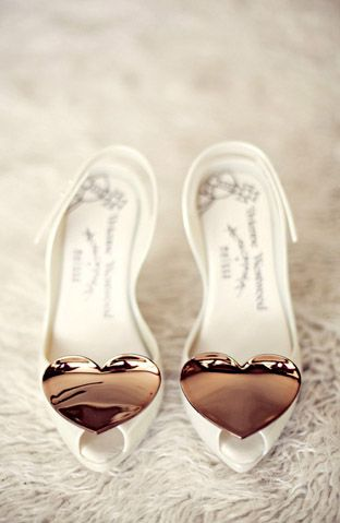 Wear your heart on your shoes!