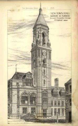 Never happened: One of the many unadopted plans sent by architects for Barrow Town Hall SUBMITTED hall-jun-2017