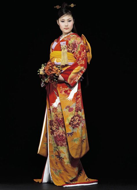 Contemporary kimono, Japan.