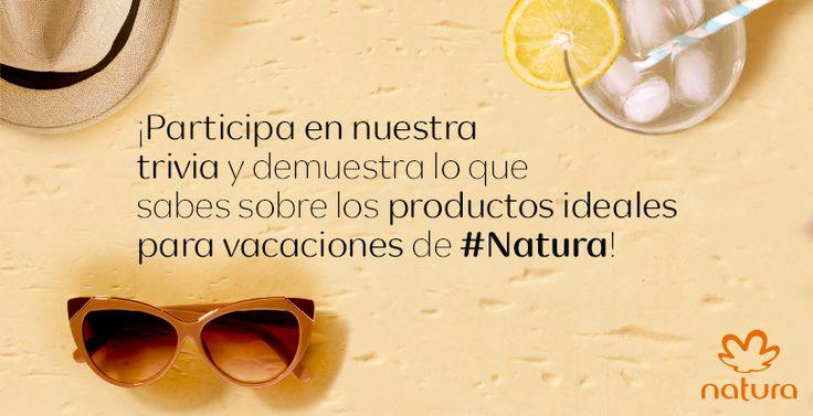 Trivia- Vacaciones Natura