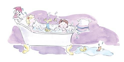 Illustratie voor boekje Jippie!    door Debbi Verbakel