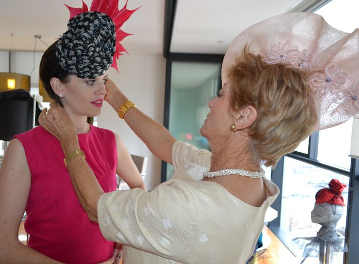 Prepping for Melbourne Cup - selecting the perfect hat by Izziana Millinery