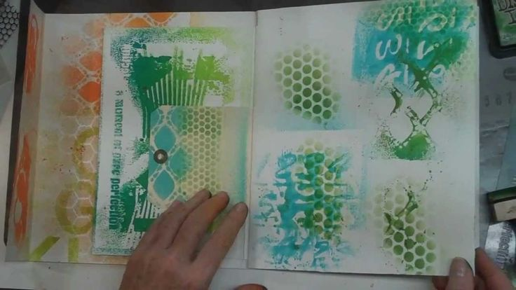 VIDEO:  Spray paints & Stencils technique - by adoreHIMcreations     ...use freezer paper to cover the parts you do not want to paint with the spray paint...     ...getting a reverse stencil image...