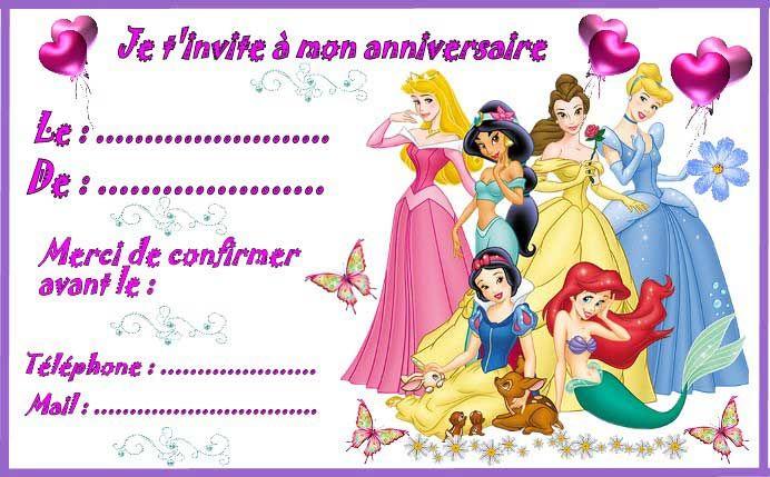 Ii Carte Invitation Anniversaire A Imprimer Gratuite 6 Carte