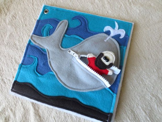 Bible quiet book - Jonah and the whale