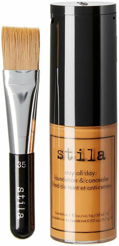 Maple Stay All Day Foundation, Concealer, Brush $15.99 by Stila at Ru la la. High Performance Foundation that stays all day and delivers a flawless finish. Visit site for details #giftideas