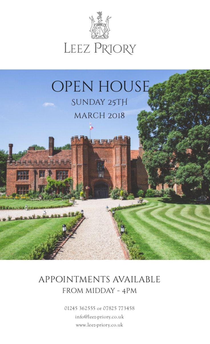 Leez Priory Open House