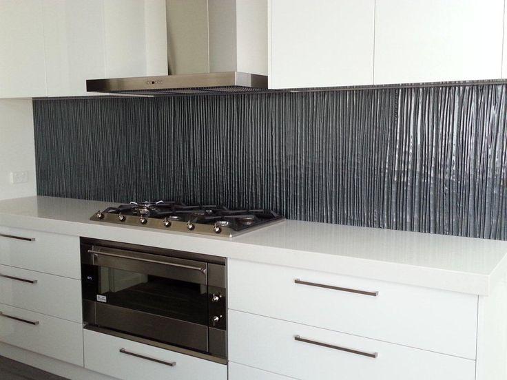grey kitchen Splashback #splashback
