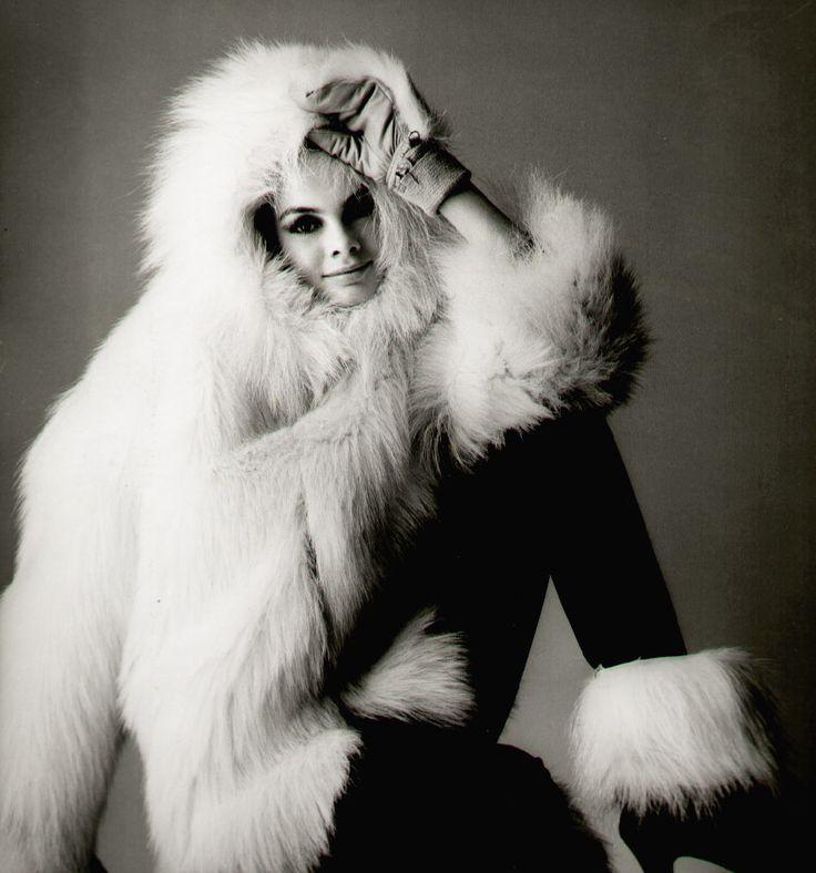 Jean Shrimpton by Bailey 1966