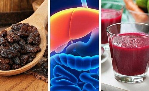 Zur Reinigung der Leber: Rote Beete und dunkle Rosinen