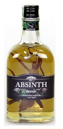 Unique Style with Giant Beetle, UNIQUE ABSINTH CONTAINING 35MG OF  THUJONE