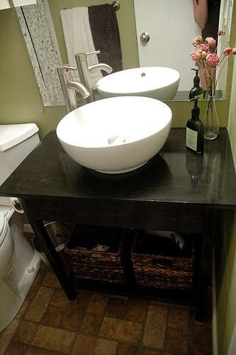 17 best images about small powder room on pinterest powder room design vanities and tiny half - Simply design a bathroom vanity with five steps ...