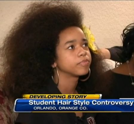 Another Day, Another Natural Hair Ban: Vanessa VanDyke Asked To Cut Her Afro Or Be Expelled