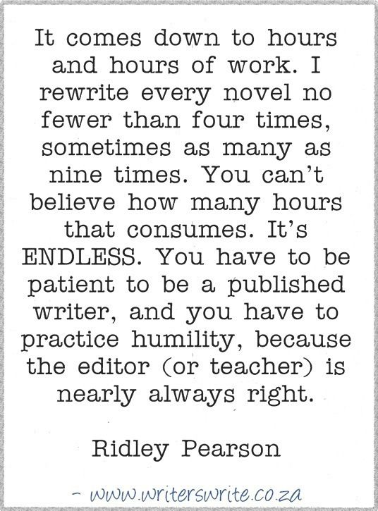 Quotable - Ridley Pearson