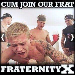An official Fraternity at a University in Arizona just outside of Phoenix, named FraternityX, making hot bareback gay porn!