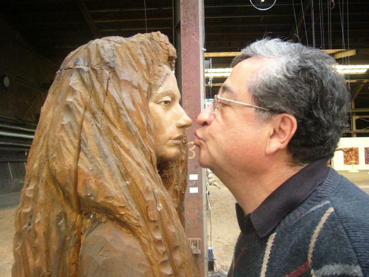 ..............un beso robado a la donna inmobile en Kunst in der carlshutte NORDART BUDELSDORF,GERMANY