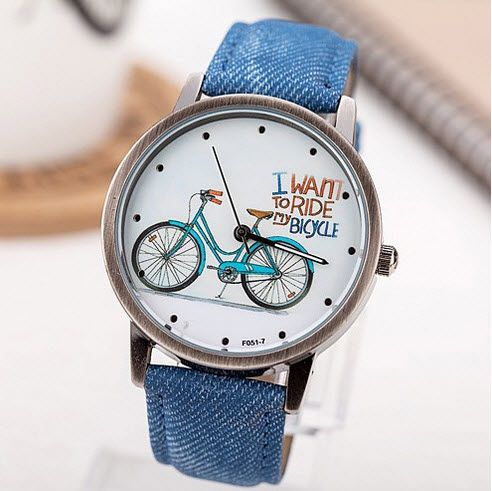 Huge savings on this BicycleBlue Summer Afternoon Ladies Casual Watch - €7.99 DIRECT FROM SUPPLIER (FREE SHIPPING) #WatchesDirectEU #womensfashion #womenswatches #watches
