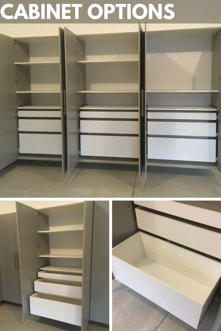 cabinet storage alloworigin systems custom disposition garage closet accesskeyid creations cabinets plus pics