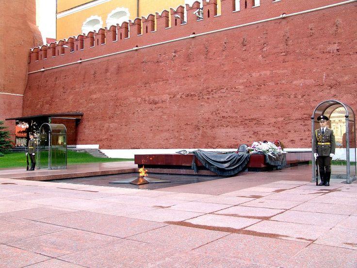 Вечный огонь, памятник неизвестному солдату и почетный караул--Eternal flame, monument unknown soldier and guard of honour ,Moscow