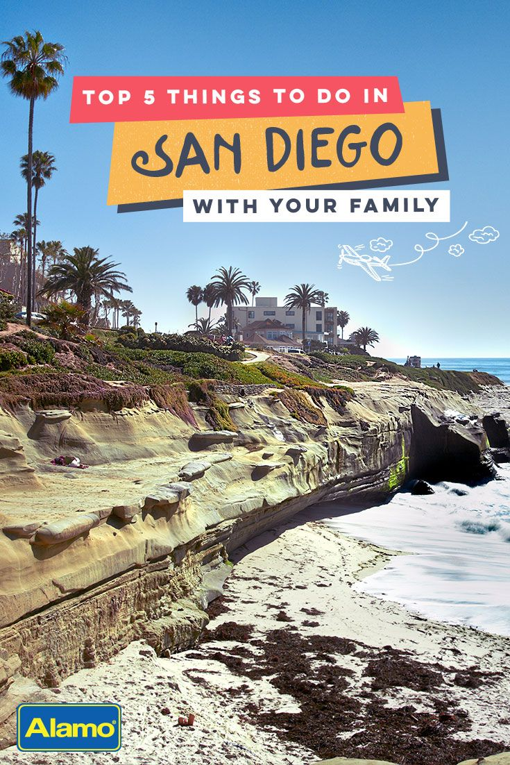 Nestled in Southern California with sunny skies, San Diego is a must see for travelers of any age. Here are 5 family-friendly attractions to enjoy on your next vacation.