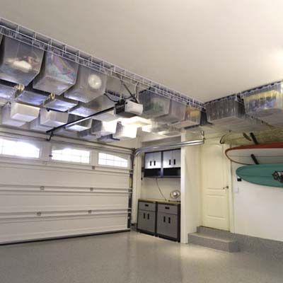 Awesome Garage Storage! Yes please!