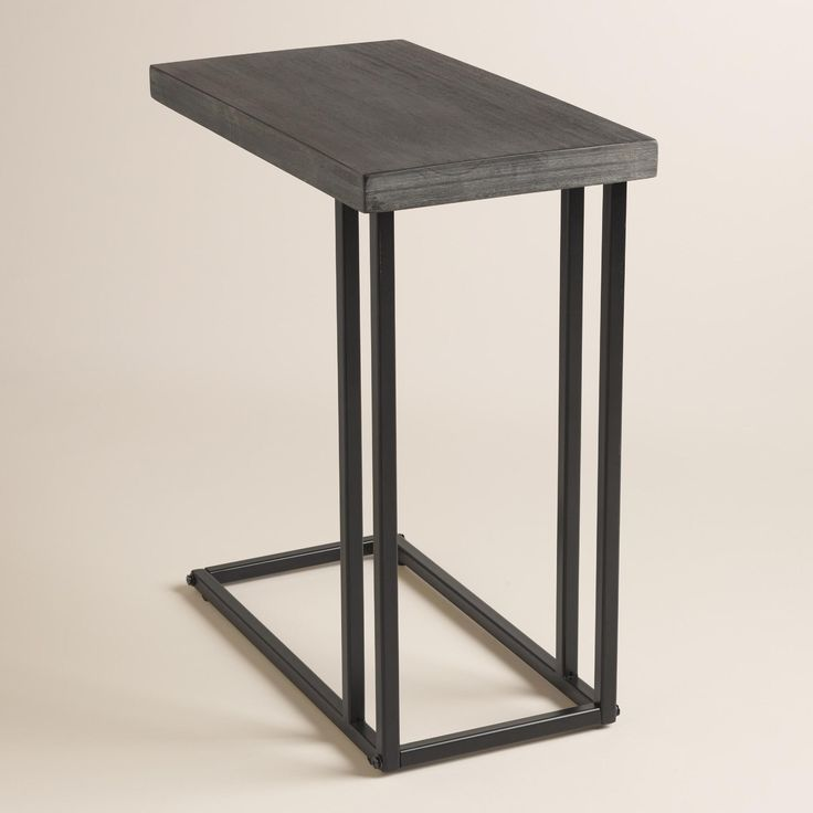 Our Versatile C Shaped Laptop Table Slides Over The Side Of A Chair To Use